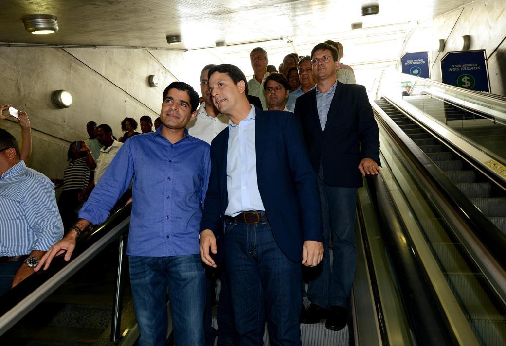 09_03_17_Pref ACM Neto_Min Bruno Araujo_visita Metro_foto Valter Pontes_SECOM