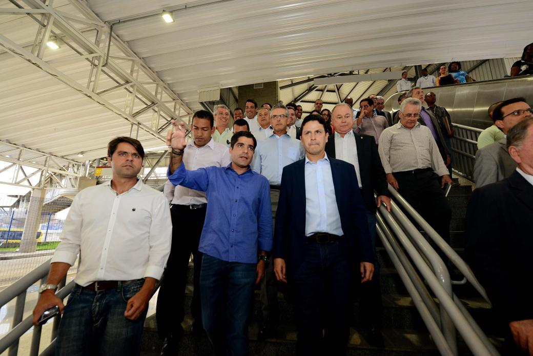 09_03_17_Pref ACM Neto_Min Bruno Araujo_visita Metro_foto Valter Pontes_SECOM1