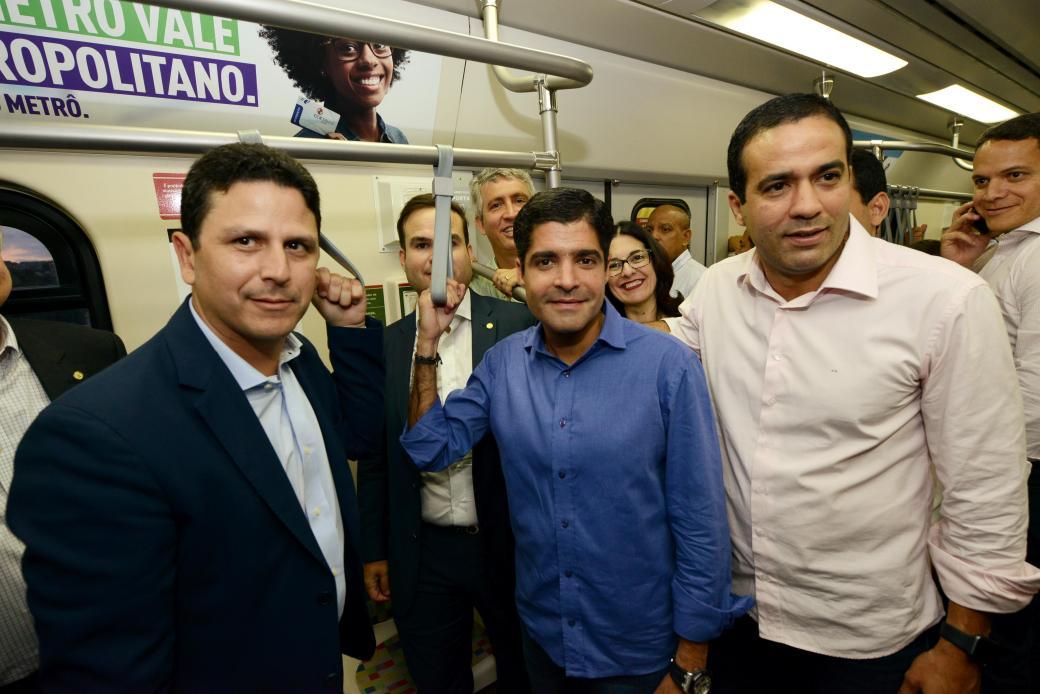 09_03_17_Pref ACM Neto_Min Bruno Araujo_visita Metro_foto Valter Pontes_SECOM11