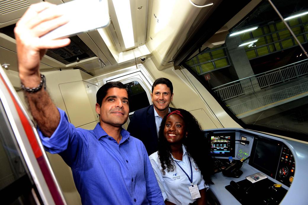 09_03_17_Pref ACM Neto_Min Bruno Araujo_visita Metro_foto Valter Pontes_SECOM17
