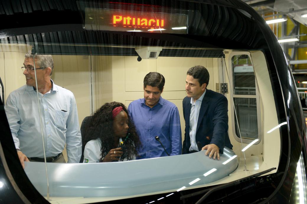 09_03_17_Pref ACM Neto_Min Bruno Araujo_visita Metro_foto Valter Pontes_SECOM20