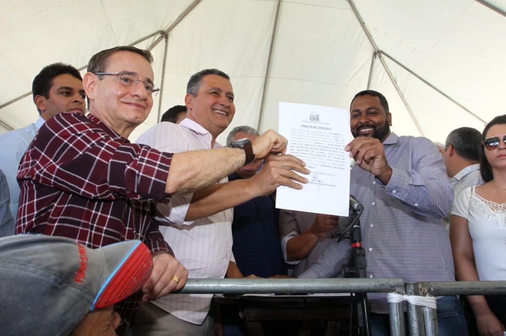 Assinada ordem de serviço para barragem (1)