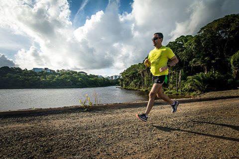 Augusto Cruz se prepara para maratona