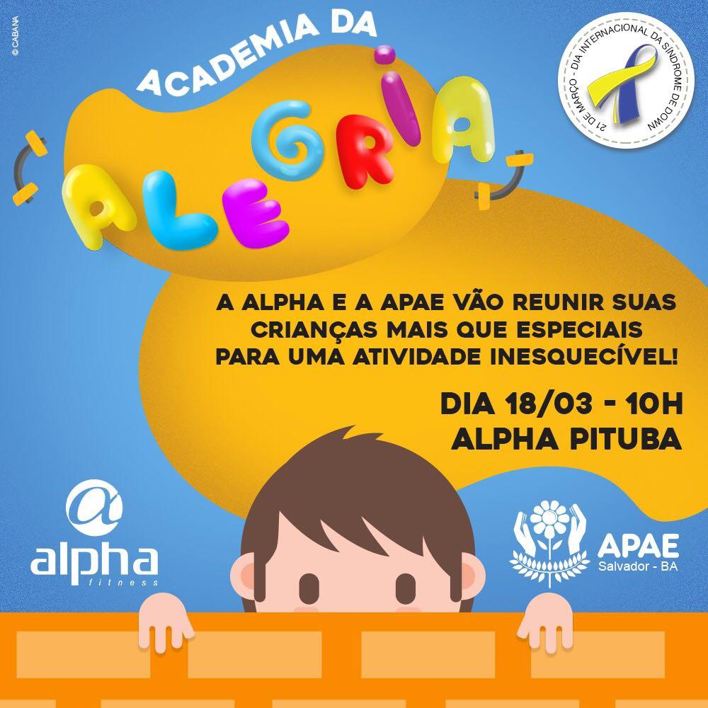 banner Academia da Alegria