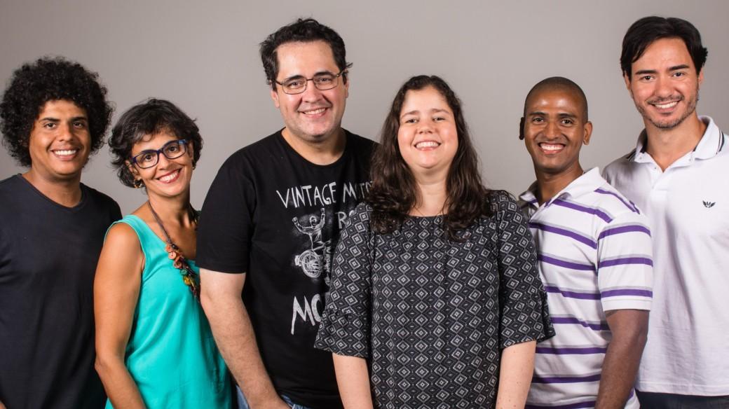 Equipe Usina do Drama (foto de Gabrielle Guido)