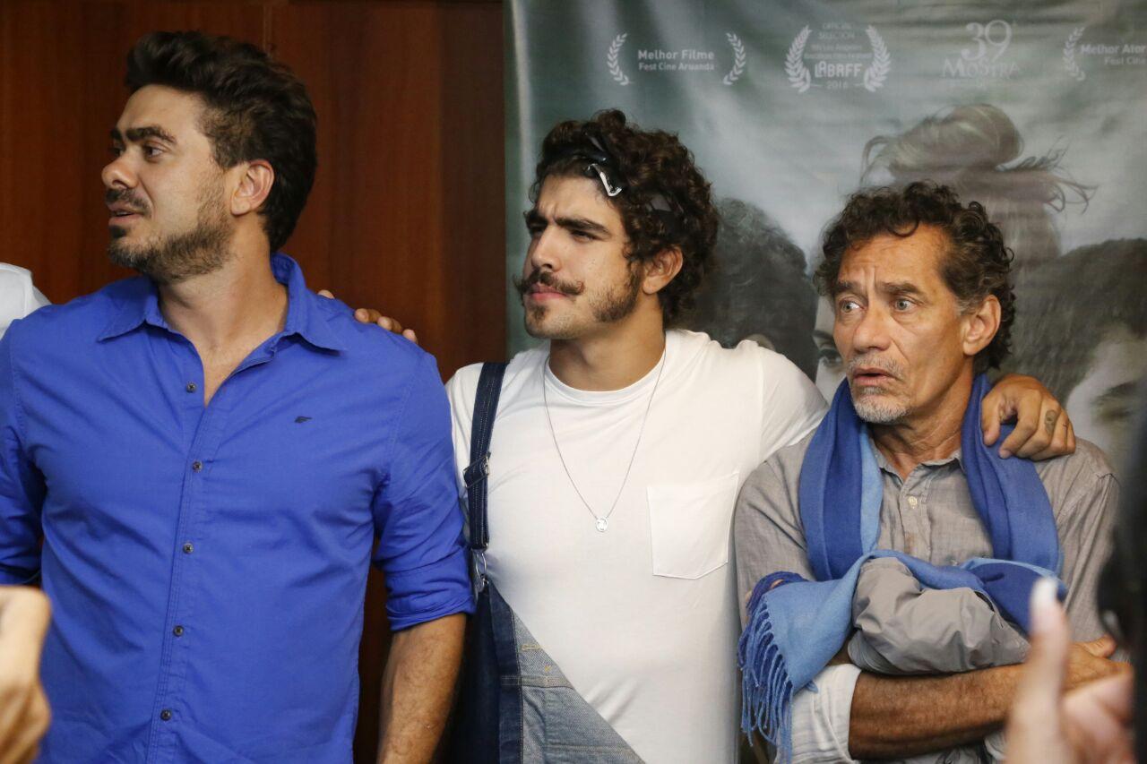 João Gabriel, Caio Castro e Chico Diaz