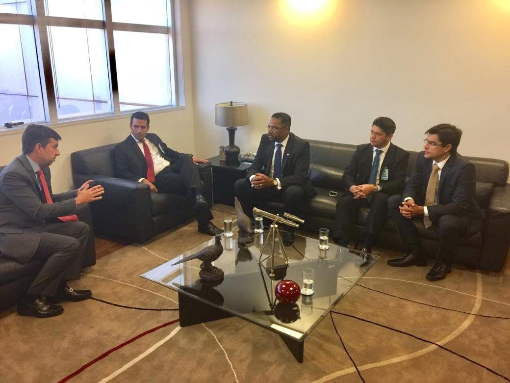 Leo Prates reunião Brasília_Silvio Pinheiro 08-03-2017