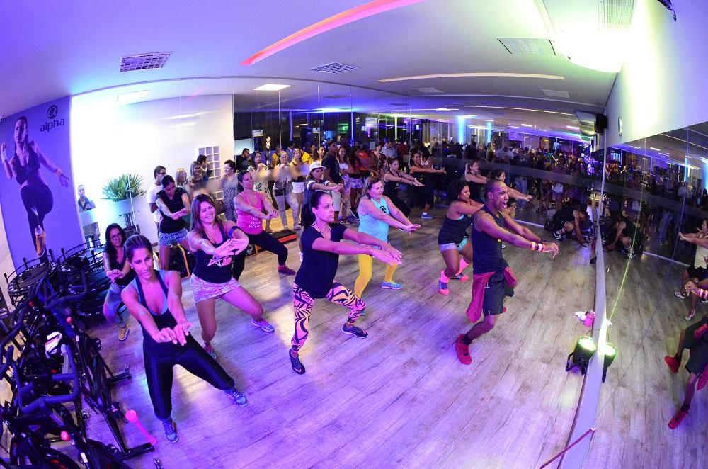Os convidados também aproveitaram uma aula de ritmos. Foto Eli Cruz