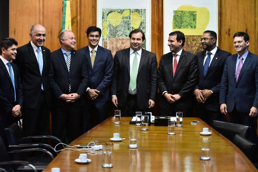 Presidente da CMS ver Leo Prates em Brasília_Reunião Rodrigo Maia 1