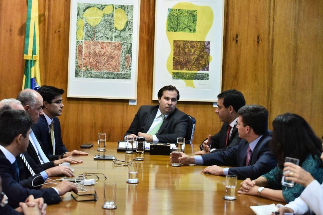 Presidente da CMS ver Leo Prates em Brasília_Reunião Rodrigo Maia 2