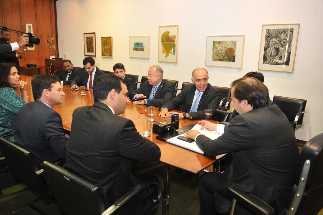 Presidente da CMS ver Leo Prates em Brasília_Reunião Rodrigo Maia 5_cerdito J Batista