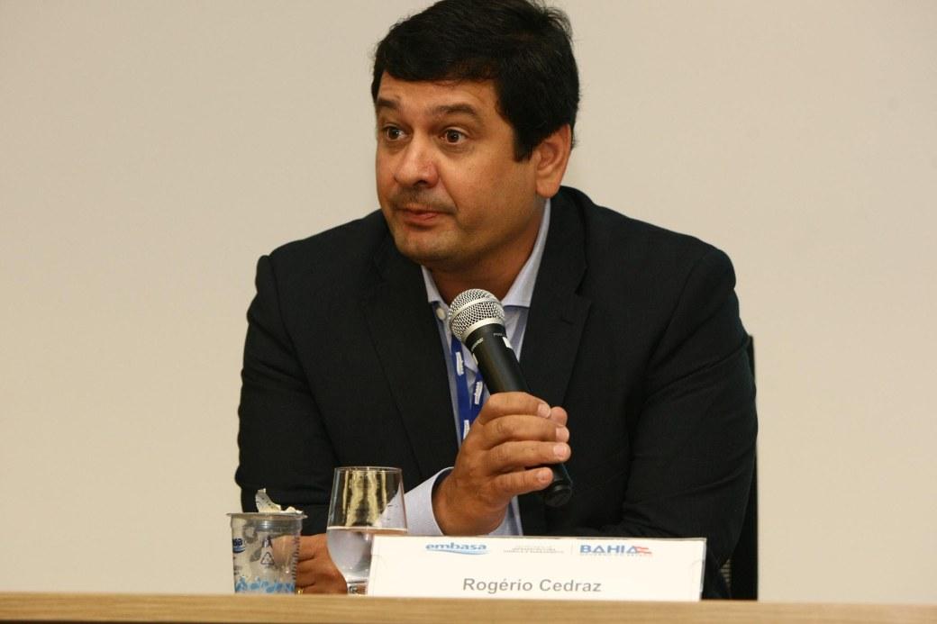 Rogério Cedraz, presidente da Embasa