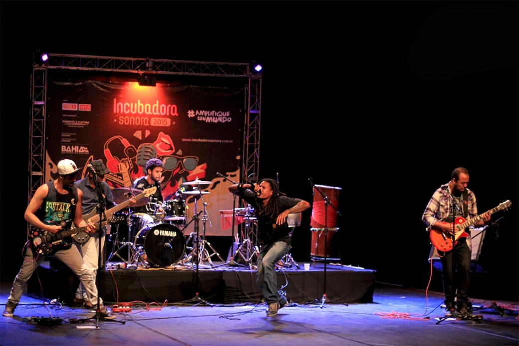 Show da banda Contrapartida em Plataforma - Foto Denisse Salazar