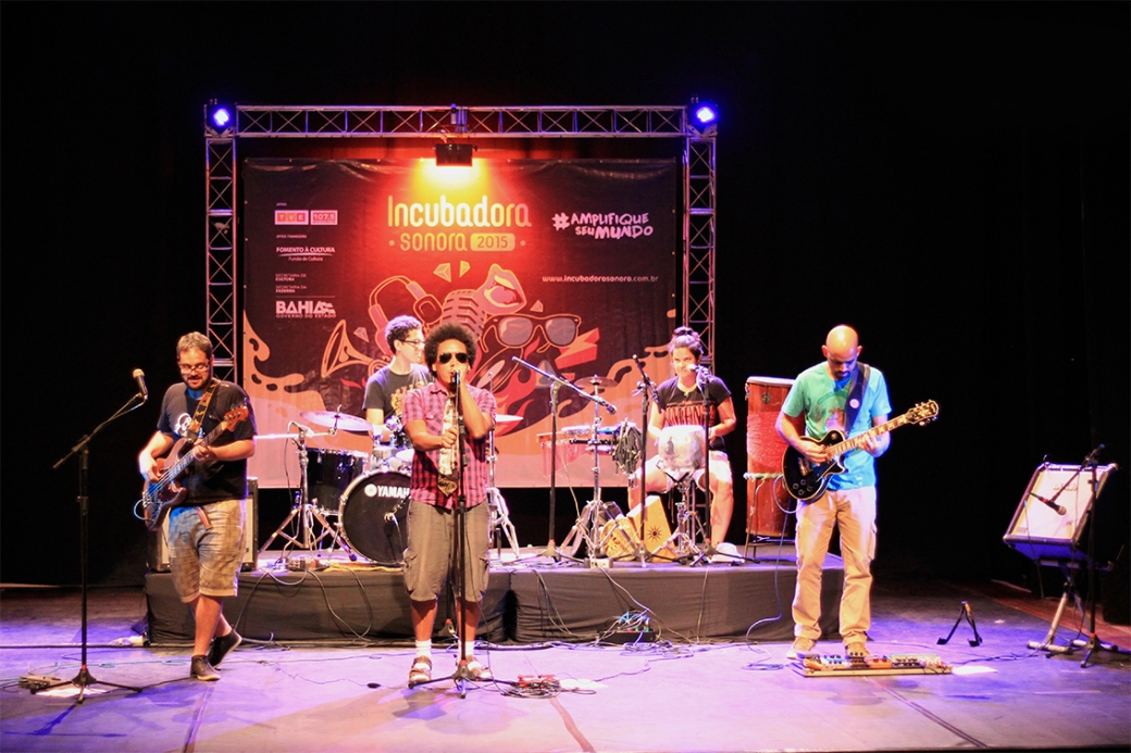 Show da Banda Irmão Carlos e o Catado - Foto Denisse Salazar
