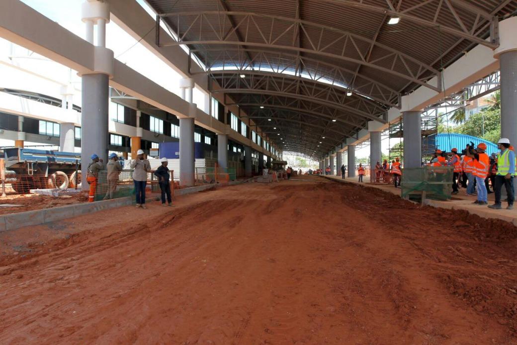Terminal de integração Mussurunga - FOTO Camila Souza - GOVBA