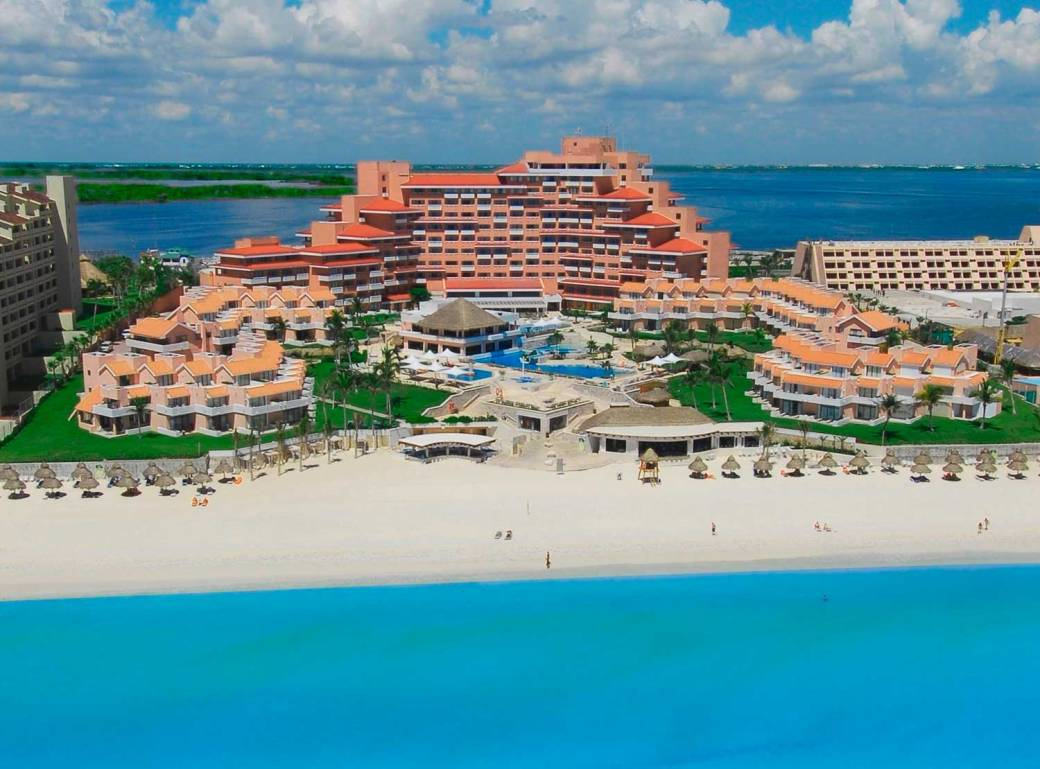 ORO VACATION CLUB - Omni Cancun Resort (vista frontal)