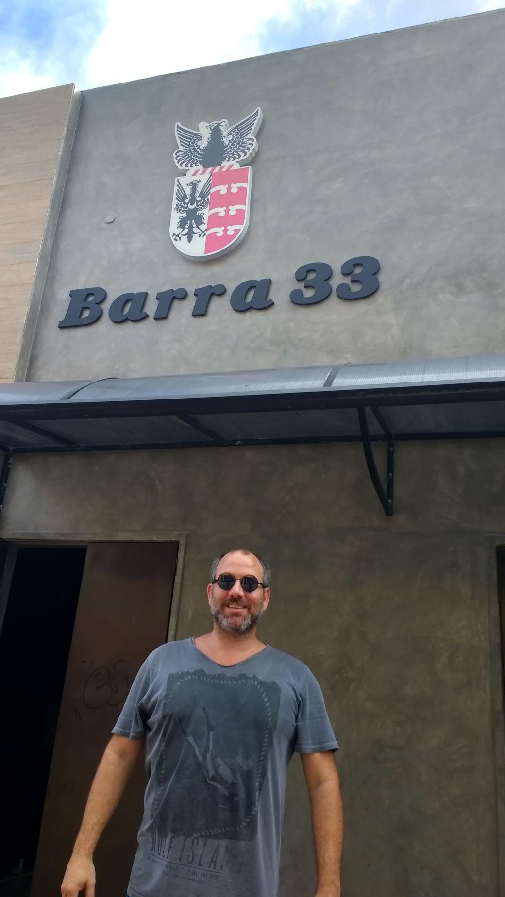 Arthur Costa, Proprietário do Barra 33. Foto Diego Mendonça