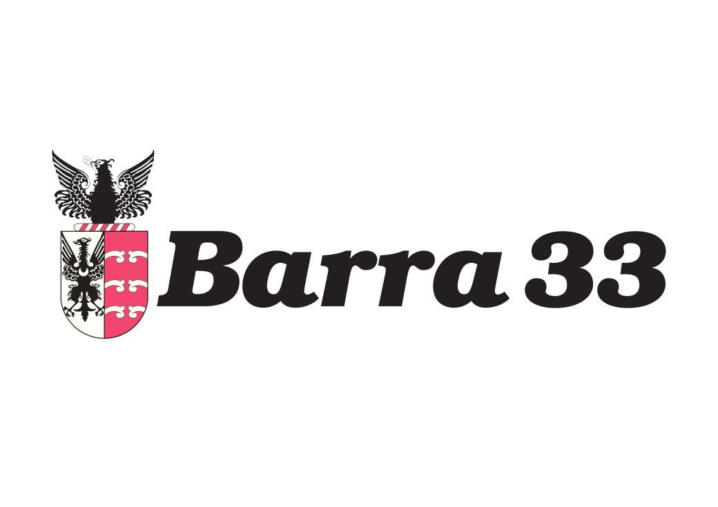 Logo oficial BARRA 33 EVENTOS
